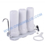 3 stages Water filter one housing clear