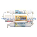 Compact 3 stage ro system for Aquarium
